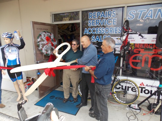 Stan's Bike Shop opening